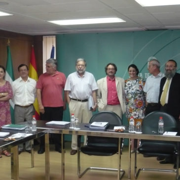 Reunión en la Consejería de Gobernación y Justicia – 28/06/2011