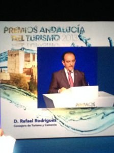 ASANDAC y la FEAA en los premios de Turismo de Andalucía 2013