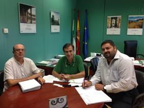 Reunión de la Consejería de Turismo de Andalucía con ASANDAC