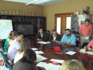 Reunión con Prodetur de la Diputación de Sevilla el 11/07/2013