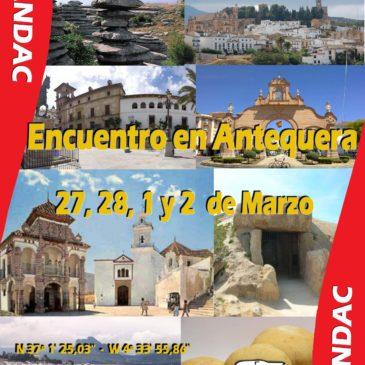 Dia de Andalucía en Antequera. Inauguración de Nueva Area. 27 y 28 de Febrero, 1 y 2 de Marzo.
