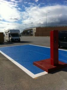 Carrefour Los Patios de Malaga, Cierra el area de autocaravanas