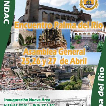 Asamblea General Ordinaria en Palma del Río.  Inauguración de nueva Área.