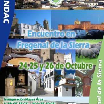 1er Encuentro Hispano-Luso en Fregenal de la Sierra – 24, 25 y 26 Octubre 2014