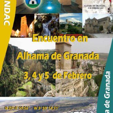 IV ENCUENTRO EN ALHAMA DE GRANADA 3,4 Y 5 FEBRERO – FIESTA DEL VINO