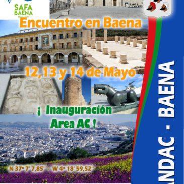 Inauguración del Área de Baena, (Cordoba)-  12, 13 Y 14 de Mayo