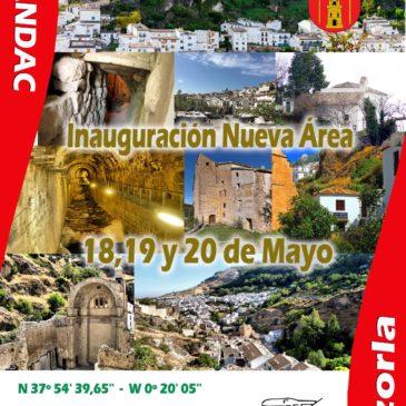 Inauguración Area de Autocaravanas en Cazorla – 18, 19 y 20 de Mayo
