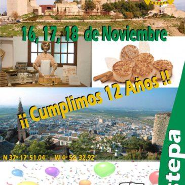 XII Aniversario de Asandac – Estepa (Sevilla) 16, 17 y 18 de Noviembre 2018