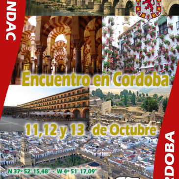 Encuentro de Cordoba – 11-12 y 13 de Octubre