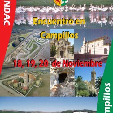 Encuentro en Campillos. Inauguración Area de Autocaravanas. 18,19 y 20 de Noviembre