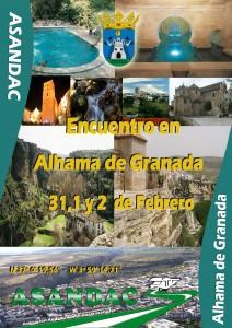 III Encuentro en Alhama de Granada 5,6 y 7 de Febrero – ¡¡¡ Fiesta del Vino !!!