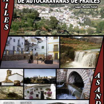Encuentro en Frailes (Jaén)  – 16,17 y 18 de Octubre del 2015. Inauguración Nueva Area de Autocaravanas