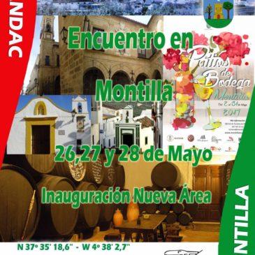 INAUGURACIÓN ÁREA DE MONTILLA, CORDOBA 26, 27 Y 28 DE MAYO