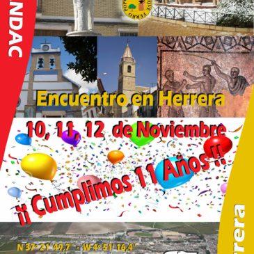 XI Aniversario de Asandac en Herrera (Sevilla) – 10, 11 y 12 de Noviembre