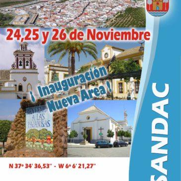 INAUGURACIÓN ÁREA EN GUILLENA (Sevilla) 24-25 Y 26 DE Noviembre