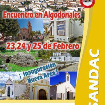 Inauguración Área Algodonales (Cadiz) – 23, 24 y 25 de Febrero